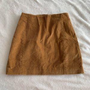 Aritzia Sunday Best Corduroy Mini Skirt